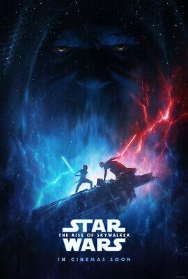STAR WARS THE RISE OF SKYWALKER MOVIE POSTER 2 Sided ORIGINAL INTL Ver B 27x40