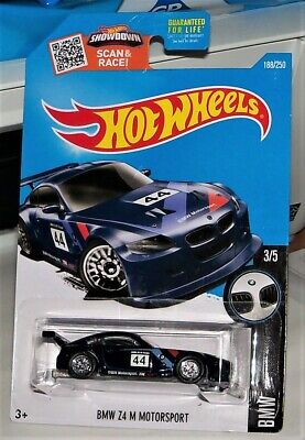 HOT WHEELS '16 SUPER TREASURE HUNT BMW Z4 M MOTORSPORT HW BMW SERIES VHTF!