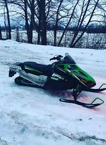 Trade? 2010 arctic cat f8 lxr snowmobile
