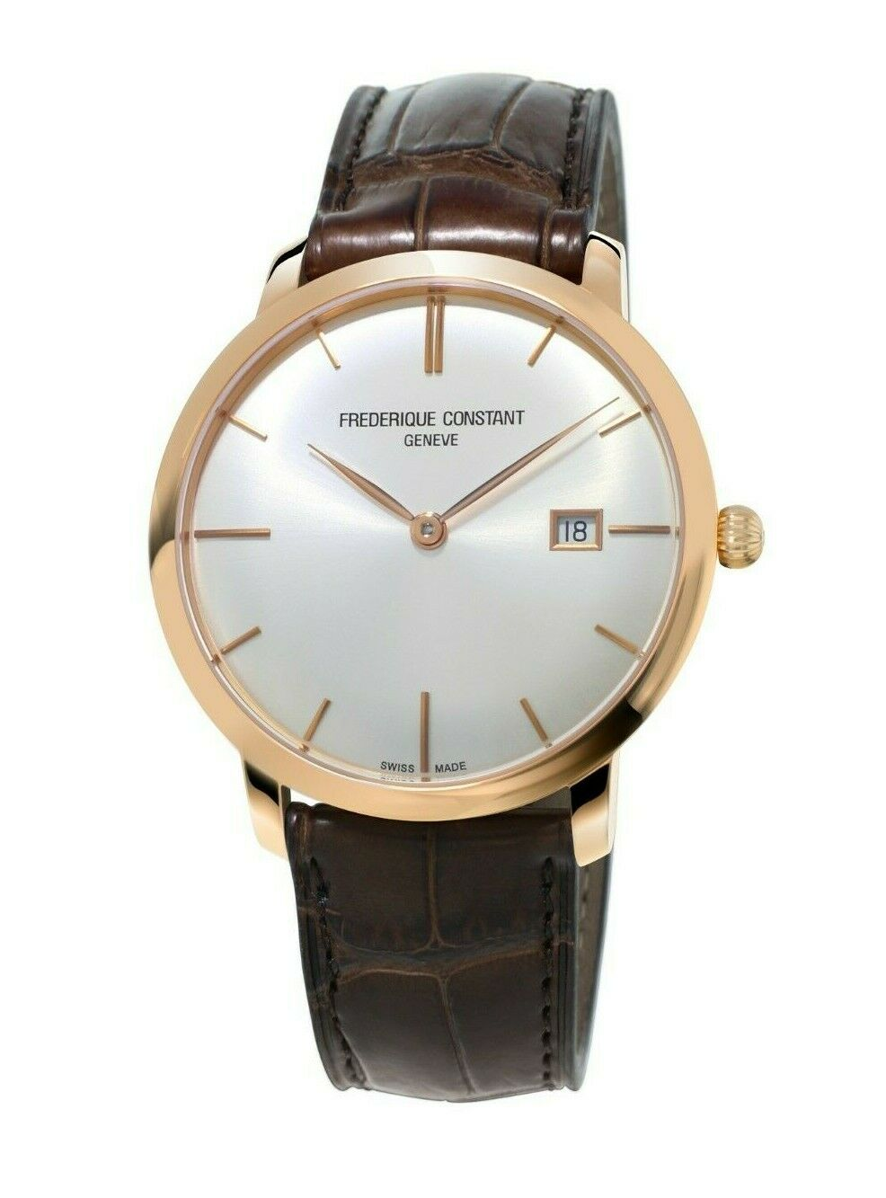 Frederique Constant Slimline Men's Swiss Automatic 40mm Watch FC-306V4S9 - watch picture 1