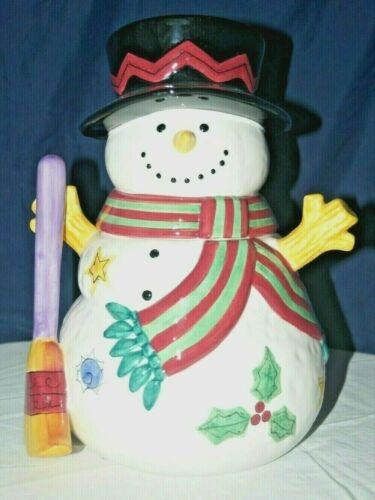 Sweet Shoppe Christmas Cookie Jar by Sango