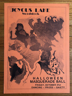 K, NY/Halloween/Original Music Poster/c.1975 (Halloween Original-poster)