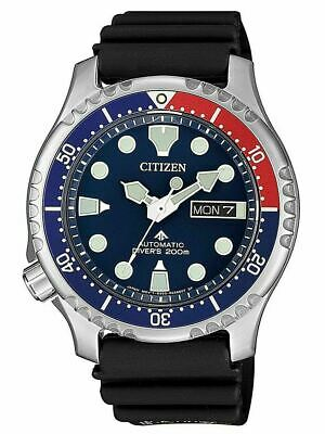 Citizen Promaster Diver Men's Automatic Watch - NY0086-16L NEW