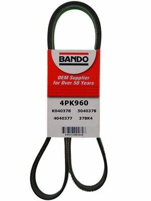 BANDO 4PK960 Serpentine V-Ribbed Belt  GM A/C Belt