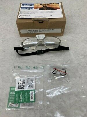 Zeiss 304211-9002-000 Carrier System Gf Titanium Frames 53-20 No Loupes