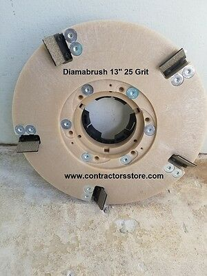 Diamabrush 13 Concrete Coating Removal Tool 25 Grit