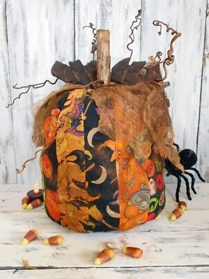 Pattern: Primitive/ Craft/ Pattern/ Halloween/ Scrap/ Pumpkin/ DIY/ Idea/ - Halloween Craft Decoration Ideas