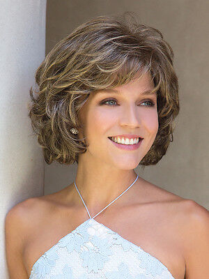 Chin Length Curly Wig - MARIAH Wig by NORIKO Rene of Paris, **ALL COLORS!** Curly Chin-Length Bob, NEW!