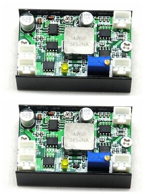 2pcs 450nm 3.5w 4.5w Blue Laser Diode Driver Board Power Supply Board 12v 4a