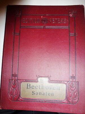 Beethoven Sonaten Noten - Edition Peters  3031