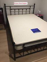 Full Size Brand New And Quality Full Metal Bed Frame Black/White Clayton South Kingston Area Preview