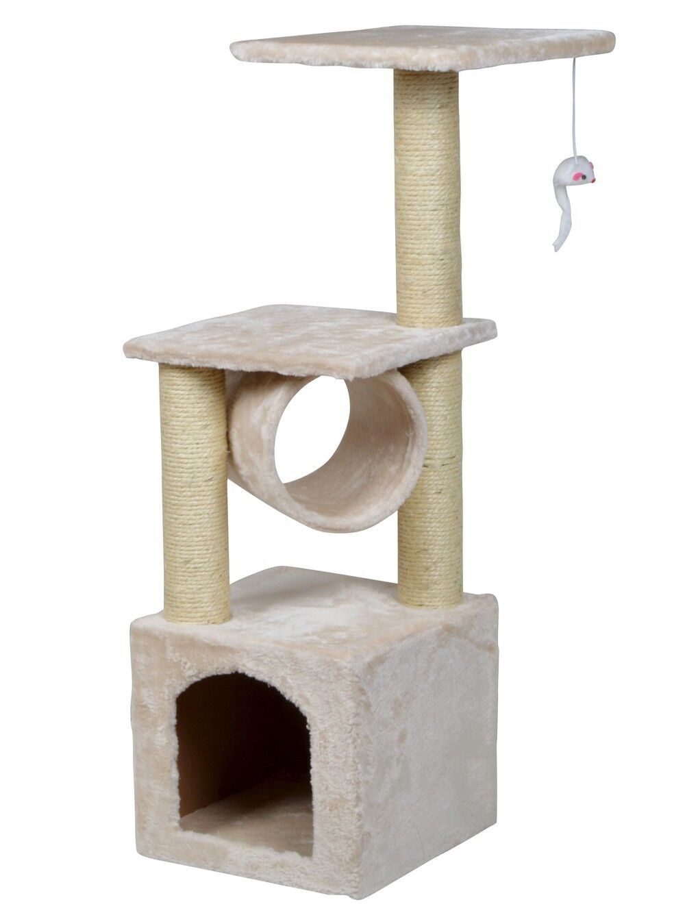 Deluxe Cat Tree Level Condo Furniture