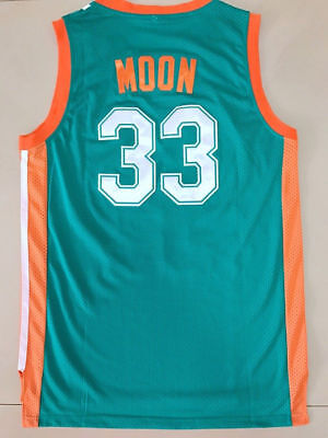 New Jackie Moon Flint Tropical Jerseys #33 Basketball Jersey Stitched Green](Jackie Moon Jersey)