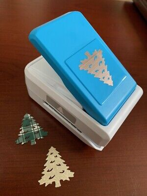 Rare NLA Creative Memories Pine Tree Christmas Decorative Punch Scrapbook New ()