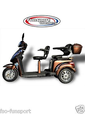 Elektromobil-Eco Engel 503-Seniorenmobil-Dreirad-Scooter-Elektrorollstuhl