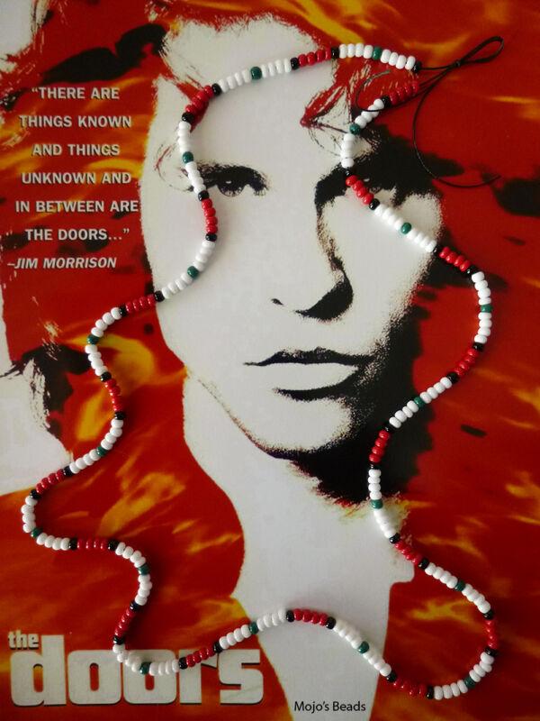Doors The Movie 1991 Love Bead Necklace Replica Val Kilmer As Jim Morrison