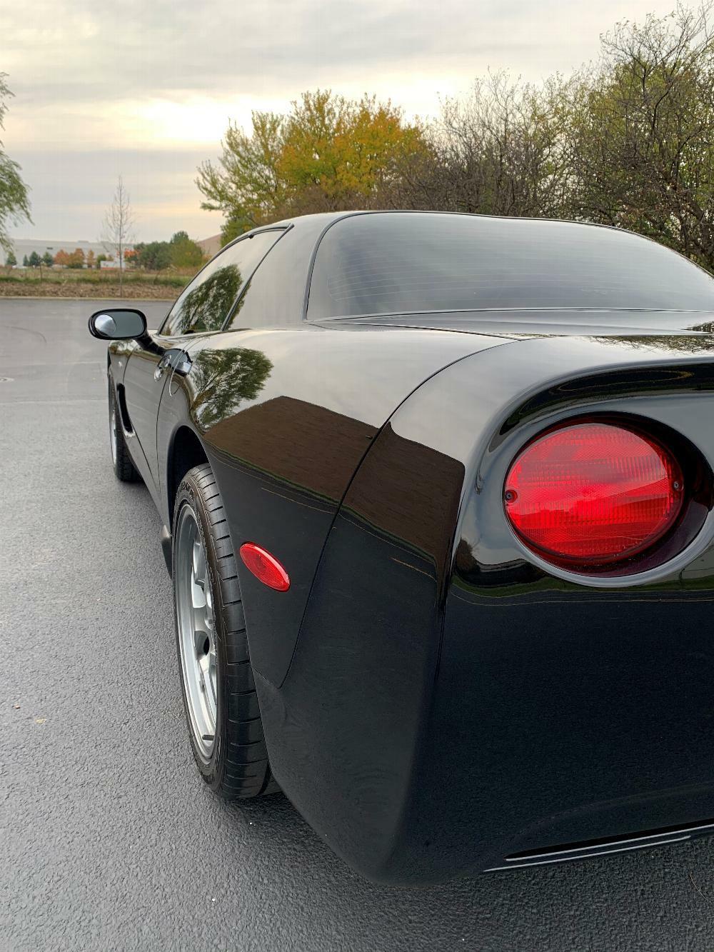 2002 Black Chevrolet Corvette Z06  | C5 Corvette Photo 8