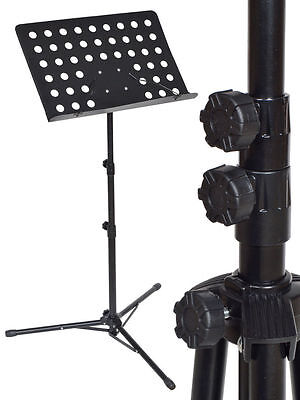 Folding Music Conductor Stand Adjustable Metal Stage Sheet Tripod Holder S