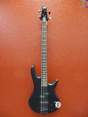 Ibanez GSR200BWK 4-String Electric Bass Guitar, Weathered Black, Free Shipping