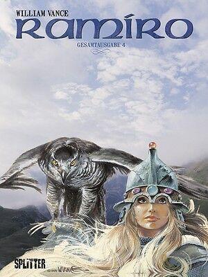 Ramiro Gesamtausgabe 1 bis 4  komplett  VANCE  Splitter Verlag Neuware