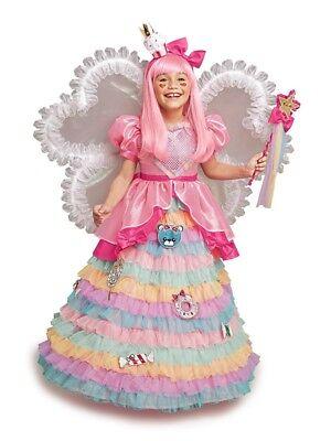 Girls Size 8 Harajuku Lovers Chasing Fireflies Candy Fairy Princess Dress & Wig  - Harajuku Girls Costume