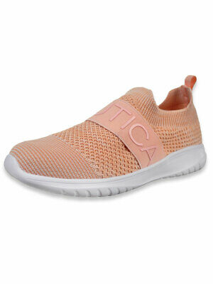 Nautica Girls' West Deck Sneakers (Sizes 13 - 5)