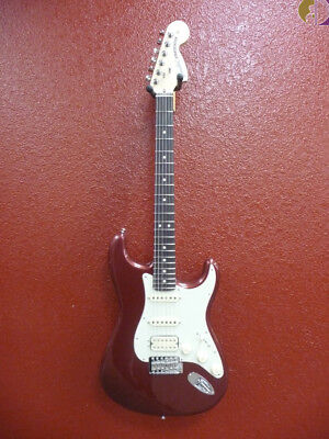 Fender American Performer Stratocaster HSS Auburn, Rosewood Neck, w/Gigbag