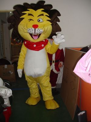 2019 For Unisex New Party Animal Mascot Lion Costume Parade Outfit Dress Adult - Animal Outfits For Adults