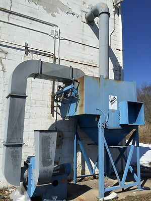 Torit 12 Cartridge Downflo Dust Collector Df2-12 W20 Hp Bi Fan - Class Size 270