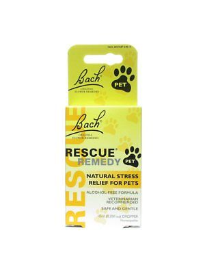 Bach, Rescue Remedy Pet, 10 ml Homeopathic Remedies Pets