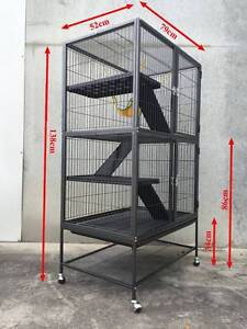 Warehouse pickup 2 storey ferret rabbit hutch cage with divider Riverwood Canterbury Area Preview