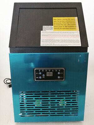 Commercial Ice Maker Machine Ice Cube Machine With 132lb Ice Making Capacity For