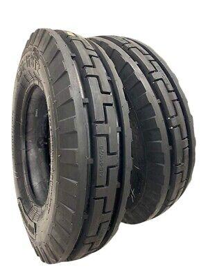7.50-16 2 - Tires Tubes 10 Ply Road Crew St2 3-rib Farm Tractor 7.50x16