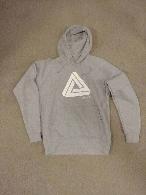 Limited Edition] grey Optiver hoodie for traders | Tops