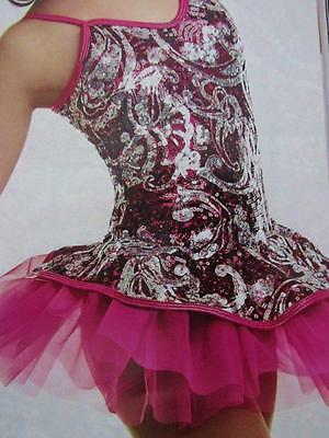 Make It Shine Sequin Dance Skate Bow Back Solo Costume ASM - Make Costumes