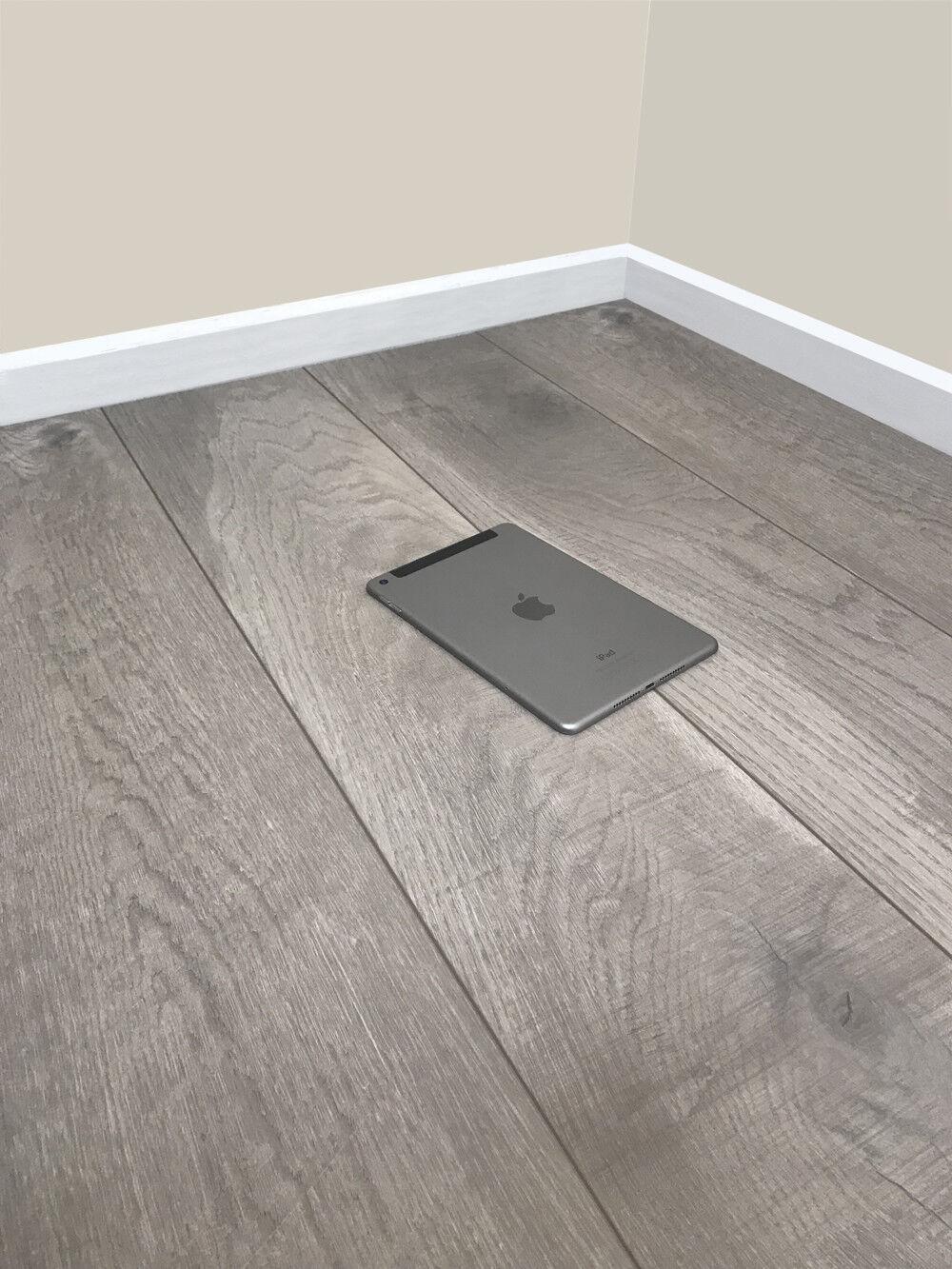 Grandismo 8mm Laminate Flooring Modern Stone V Grove Embossed Quality