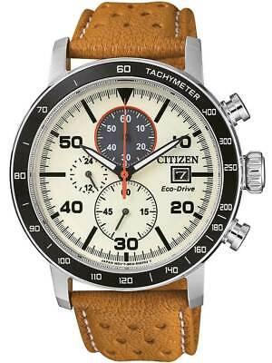 Citizen Men's Eco-Drive Chronograph 44mm Watch - CA0641-16X NEW