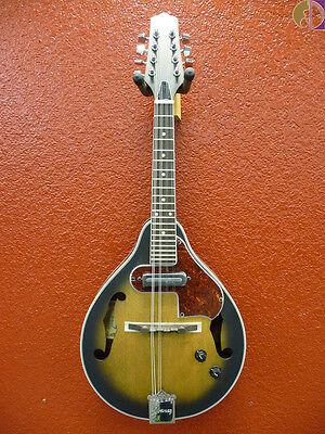 Ibanez M510EOVS A-Style Mandolin with Pickup, Open Pore Vintage Sunburst