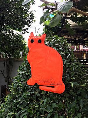 Halloween Cat Decoy Pest Control Deterrent Scarer For Bird Garden Backyard Decor (Halloween Decorations Backyard)