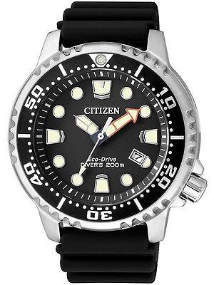 Citizen Men's Eco-Drive BN0150-28E Promaster Diver Black  Watch