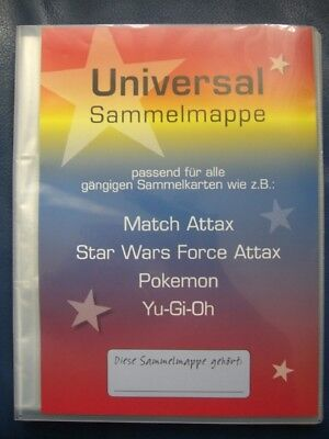 Leere Sammelmappe Leer  Star Wars Match Attax Force Attax Platz für 216 Karten