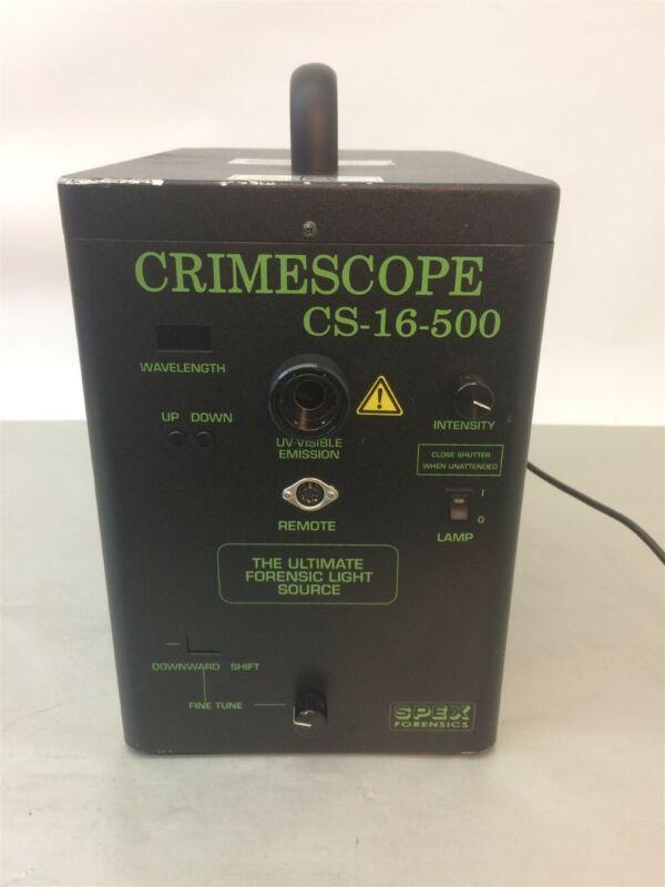 CS-16-500 CrimeScope Forensic Light Source