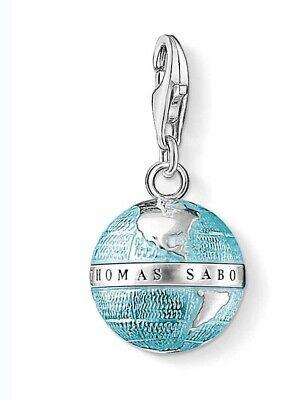 Thomas Sabo 0754-007-1 Charm Anhänger Weltkugel