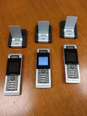 Mitel Lot - 3 X Mitel 5310 Ip Dect Cordless Handsets Chargers 1 X Gateway