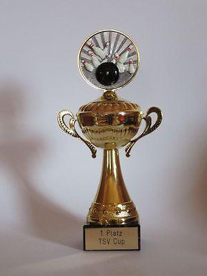 Einzel-Henkelpokal mit Gravur (für 20 verschiedene Sportarten verfügbar)