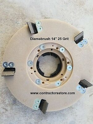 Diamabrush 14 Concrete Coating Removal Tool 25 Grit