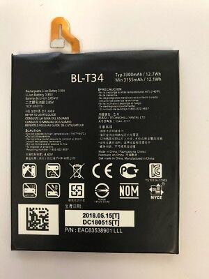 LOT OF 100 NEW BATTERY FOR LG V30 V30A H930 H932 LS998 BL-T34 3300MAH USA