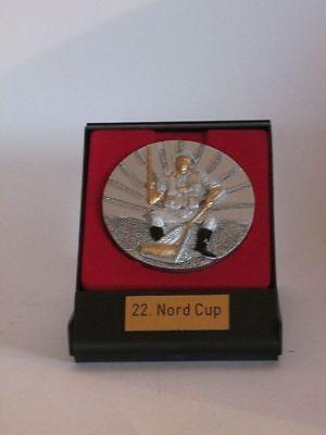 Große Resin-Medaille mit Etui und Gravur (verschiedene Sportarten erhältlich)