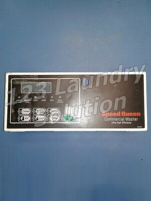 Speed Queen Horizon Washer Service Control Panel And Bracket 800035w 800033 Used