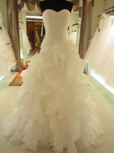 White-ivory-Mermaid-Wedding-dresses-Bridal-Gowns-Custom-Made-2-4-6-8-10-12-14